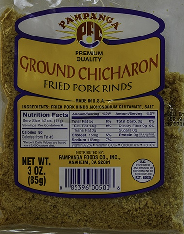 Ground Chicharon - 3oz