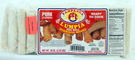 Pork Shanghai Egg Roll Party Pack - 36 ounces